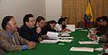Conversatorio con la prensa sobre temas económicos (ALBA y SUCRE) ofrecido por el Canciller Falconí, el Ministro Borja y el Viceministro Oleas (4032492580).jpg