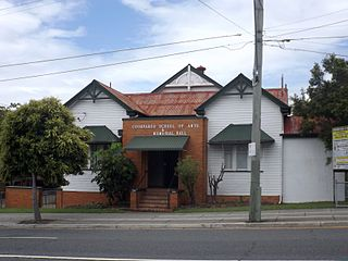 Coorparoo School of Arts and RSL Memorial Hall heritage-listed school in City of Brisbane