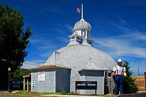 Coos County Logging Museum - Image: Coos County Logging Museum (Coos County, Oregon scenic images) (coo DA0164)
