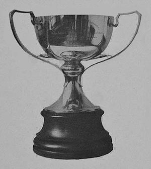 Copa Ibarguren - The trophy awarded to champions