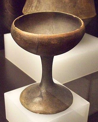 Argaric culture - Clay Argaric goblet (M.A.N., Madrid)