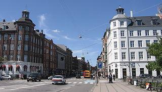 Nørrebrogade street in Copenhagen