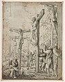 Copie d'après ALTDORFER Albrecht - Le Christ sur la Croix entre les deux larrons, INV 18903, Recto.jpg