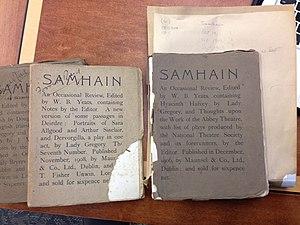 Samhain (magazine) - Three issues of Samhain