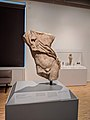 Copy of the Resting Satyr by Praxiteles in the Eskenazi Museum of Art.jpg