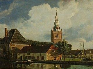 Kerk en veerhuis Overschie