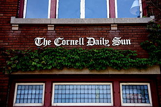 The Cornell Daily Sun - Building of The Sun in Ithaca, New York