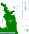 Coromandel Peninsula dive map.png