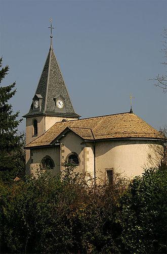 Corsier - Image: Corsier Eglise