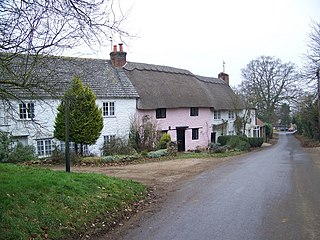Bremhill village in United Kingdom
