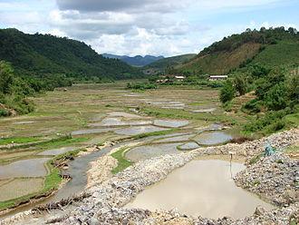 Houaphanh Province - Image: Countryside around Sam Neua Laos 02