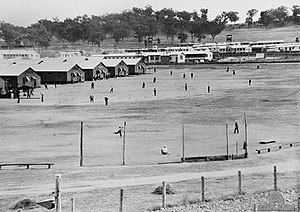 New South Wales - Japanese POW camp in Cowra, 1944, several weeks before the Cowra breakout