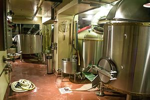 Microbrewery - A craft brewery