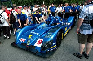 Reynard 02S - Creation's upgraded CA06/H at the 2006 24 Hours of Le Mans.