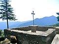 Creu al santuari del Coll - panoramio.jpg
