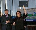 Cristina Fernández y Hermes Binner en Las Parejas.jpg