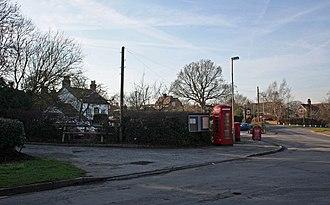 Crowton - Image: Crowton village centre