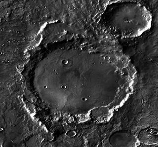 Cruls (crater) crater on Mars