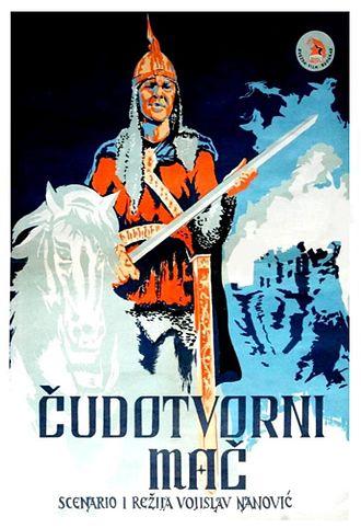 The Magic Sword (1950 film) - Image: Cudotvorni Mac Poster