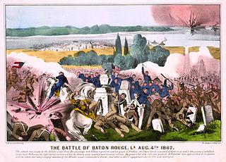 Battle of Baton Rouge (1862) Battle of the American Civil War in Louisiana