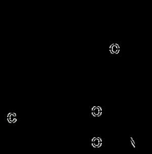 Cyhalothrin - Image: Cyhalothrin structure