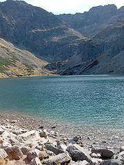 Lake Morskie Oko, White Dunajec Springs