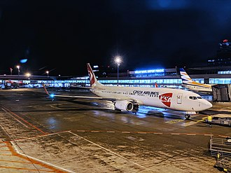 Czech Airlines - Czech Airlines Boeing 737-800 operated by Smartwings