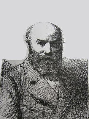Désiré François Laugée - Désiré François Laugée - self portrait aged 60