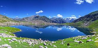 Daral Lake - Daral Lake, Bahrain, Swat Valley