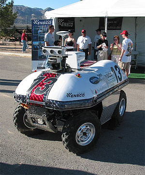 DARPA Grand Challenge (2004) - Team ENSCO's vehicle, DAVID