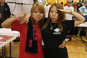 Dash Chisako - The Jumonji sisters in September 2012
