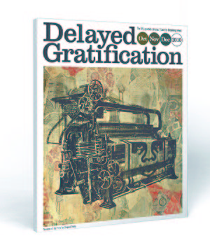 English: Cover of the first issue of Delayed G...