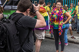 DUBLIN 2015 LGBTQ PRIDE FESTIVAL (PREPARING FOR THE PARADE) REF-106225 (19190958386).jpg