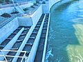 D Wasserkraftwerk Rheinfelden Fischtreppe DSCN1415.JPG