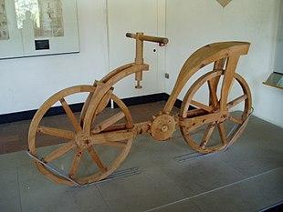 Invenzioni Di Leonardo Da Vinci Bicicletta