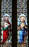 Daglan église vitrail choeur détail.JPG
