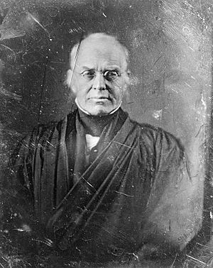 Seventh Amendment to the United States Constitution - Image: Daguerreotype of Joseph Story, 1844