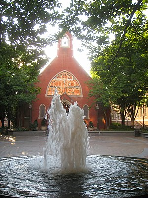 Campuses of Georgetown University - The Dahlgren Quadrangle is the traditional center of campus