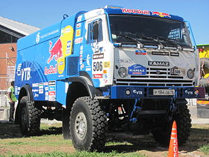 Rally raid - Kamaz 4326 modified for Dakar Rally