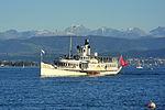 Dampfschiff Stadt Rapperswil - Zürichsee - Bürkliplatz 2012-08-27 19-11-12 (P7000).JPG