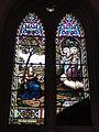 Dangé-Saint-Romain (Vienne) Église Saint-Pierre, vitrail 03.JPG
