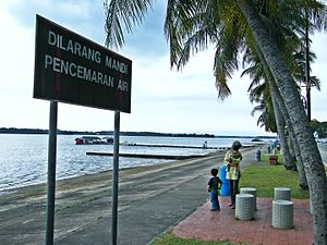 Danga Bay recreational park