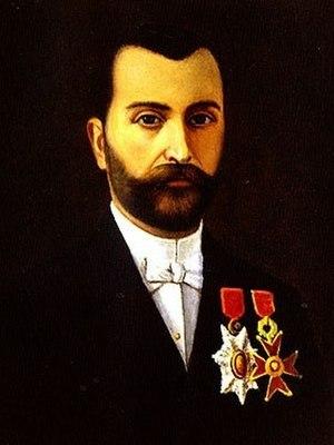 Daoud Corm - 1900 self-portrait of Daoud Corm.