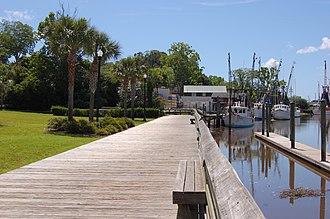 Darien, Georgia - Image: Darien Waterfront Park