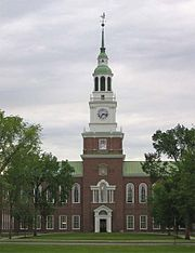 Baker Memorial Library at Dartmouth College