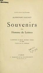 Alphonse Daudet: Souvenirs d'un homme de lettres