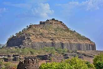 Alauddin Khalji's conquest of Devagiri - The ruins of the Devagiri fort