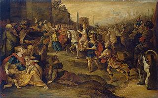Entry of David into Jerusalem
