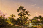 David Johnson 'Sunset On the Unadilla River', 1856.jpg