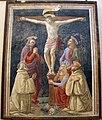 David ghirlandaio (attr.), crocifissione coi ss benedetto e romulado, da chiostro di s.m. degli angeli 01.JPG